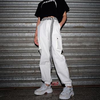 135cm Women's Checkerboard Belt Canvas Belt Cummerbunds Waistband Black White Plaid Belt Checkerboard Belt Black White Plaid