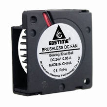 20 шт gdstime 24 в 30 мм шарикоподшипник вентилятор 3 см x 10