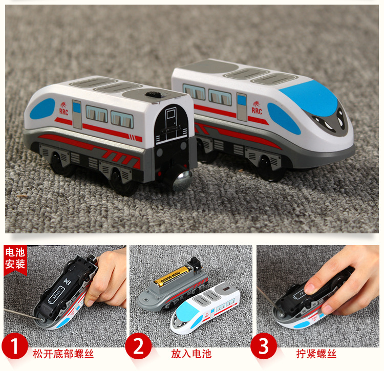 Us 1687 45 Offaliexpresscom Buy Wooden Railway Straight And Curved Expansion Track Take N Play Motorized Electric Train For Wooden Track Master