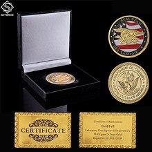 Pièce de monnaie de Collection de luxe avec boîte à monnaie