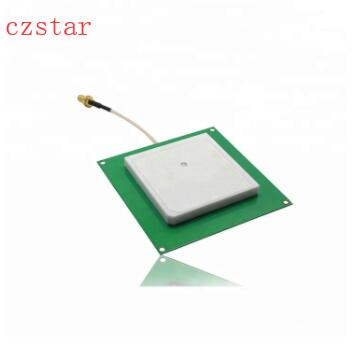 6dbi uhf rfid antenna ceramics 80*80mm antenna Circular polarized for single ports 4ports rfid uhf reader module, pcb 120*120mm