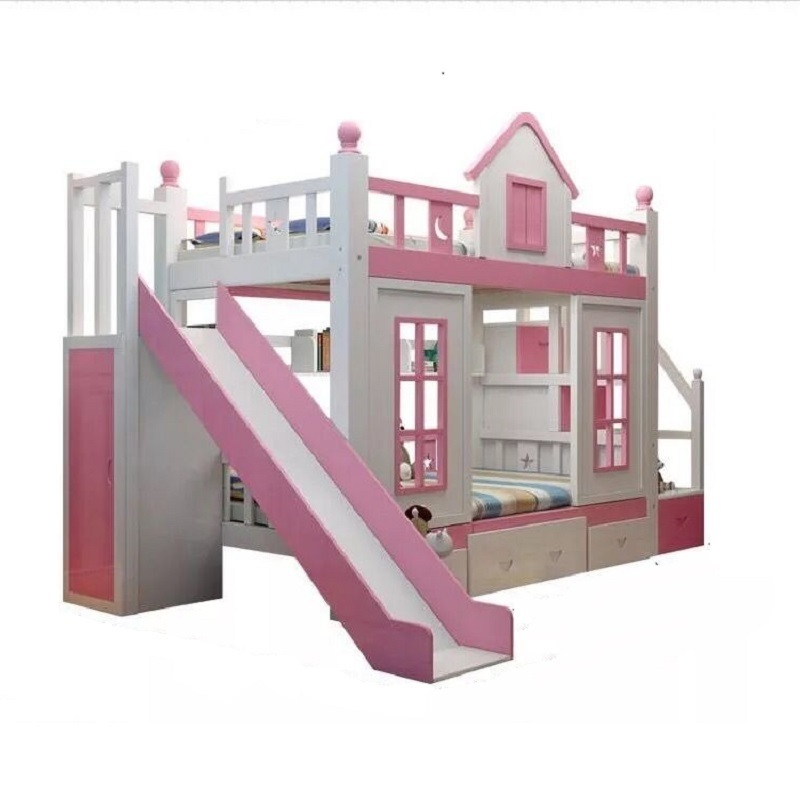 Meuble Maison Recamaras Modern Kids Deck Lit Enfant Room De Dormitorio bedroom Furniture Cama Moderna Mueble Double Bunk Bed