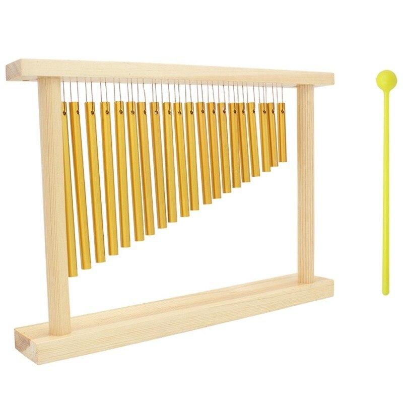 Début du développement amusant jouet éducatif 20 tons Campanula dédié Percussion carillons éoliens berceau musique jouets pour enfants cadeau