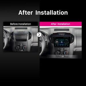 Image 4 - Seicane Radio estéreo con GPS para coche, Radio con Android 9,1 de 9 pulgadas, 2Din, Wifi, bluetooth, para unidad central, para D MAX Isuzu, Chevrolet S10, 2015, 2016, 2017, 2018
