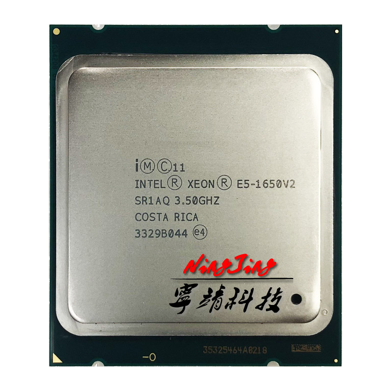 Intel Xeon E5 1650 v2 E5 1650v2 E5 1650 v2 3 5 GHz Six Core Twelve