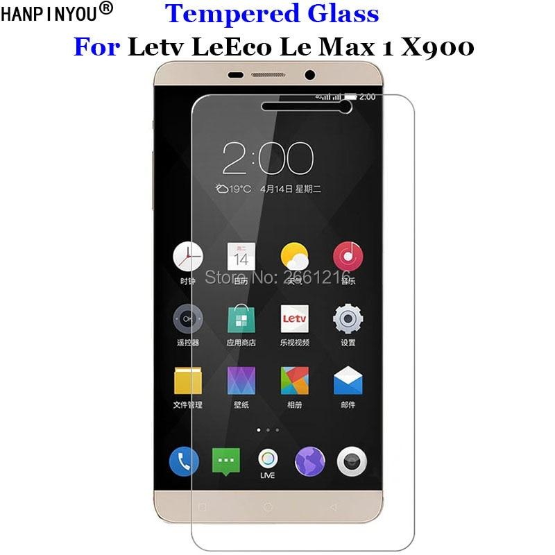 Para Letv Le Max 1 X900 de vidrio templado 9H 2.5D protector de pantalla Premium película para Letv LeEco Le Max 1 max1 X900 6,33