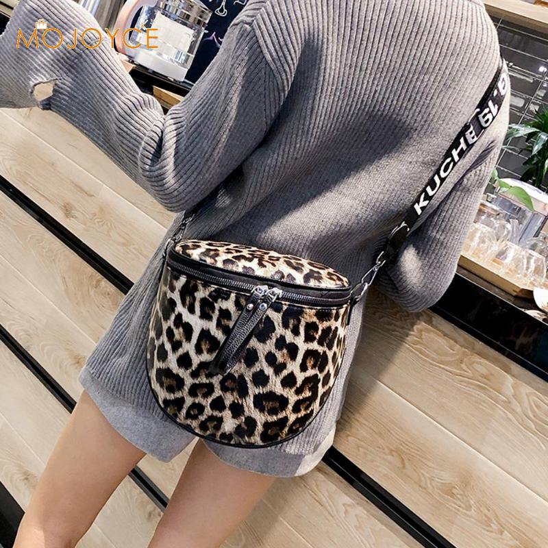 Leopard Print Bucket Woman Bag Pu Leather Crossbody Bags Messenger Bags Fashion Female Crossbody Bags Dropshipping