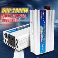 2000W DC 12V to AC 220V Car Power Inverter Charger Converter Adapter USB 5V 2000Watt Modified Sine Wave Converter