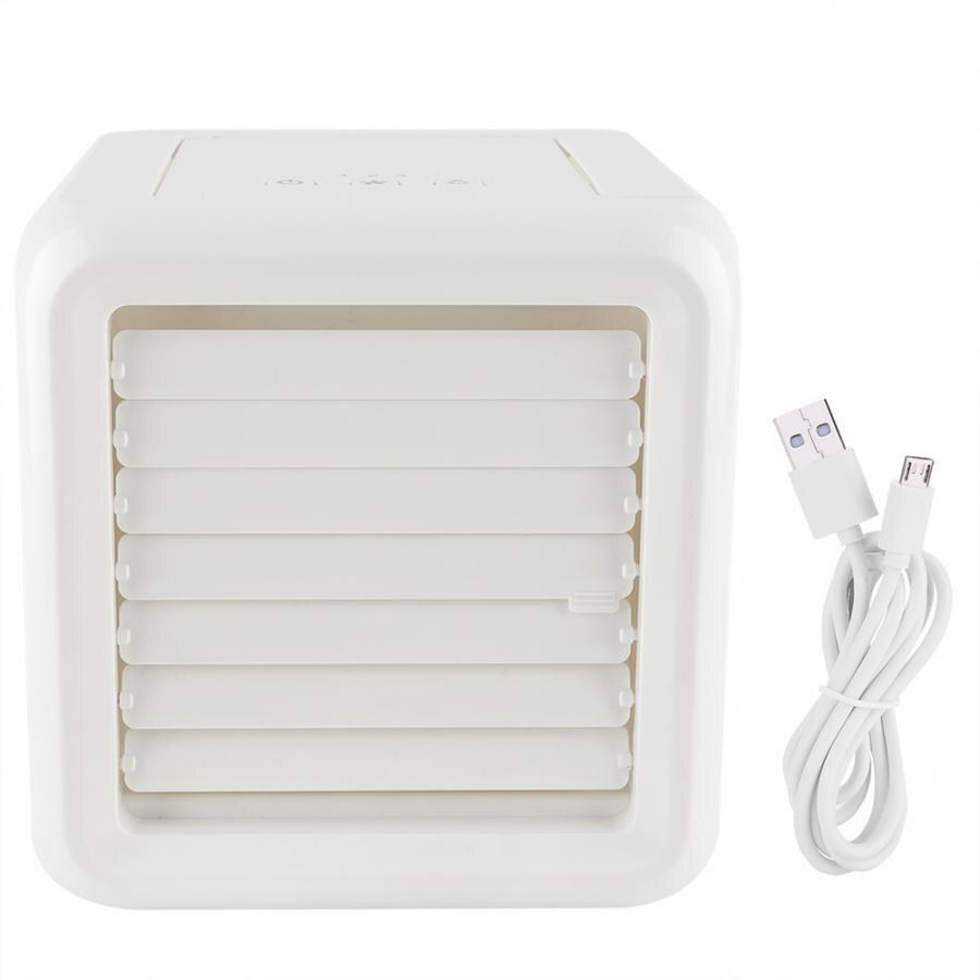 Climatiseur 1 Pc Mini climatiseur Portable ventilateur de bureau refroidisseur avec USB pour la maison bureau chambre climatisation pour la maison