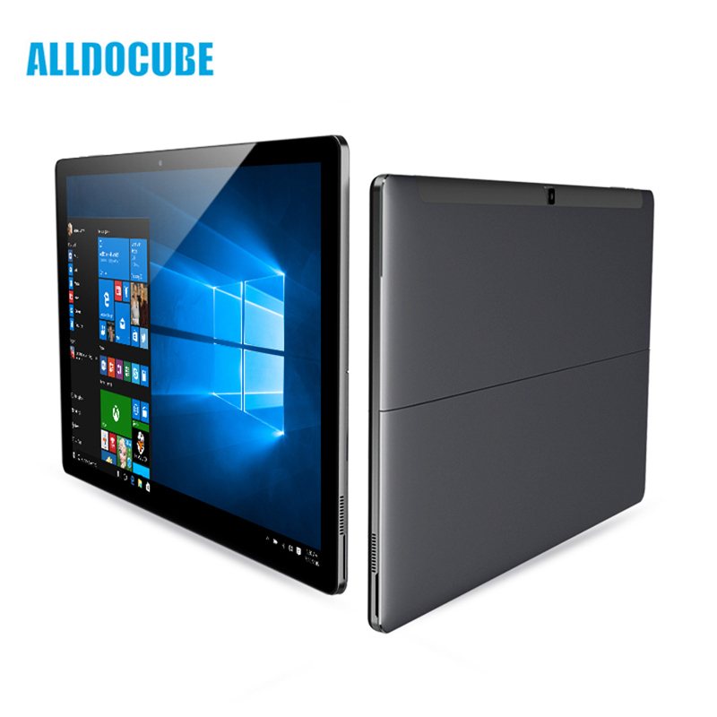 Boîte d'origine Alldocube KNote X Windows 10 128 gb IPS 2560*1440 Intel Gemini Lac N4100 Quad Core 13.3 pouce 2-in-1Tablet Ordinateur
