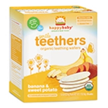 Frontier Natural Products 228632 Gentle Organic Teething Wafers Banana & Sweet Potato - 1.7 oz.()
