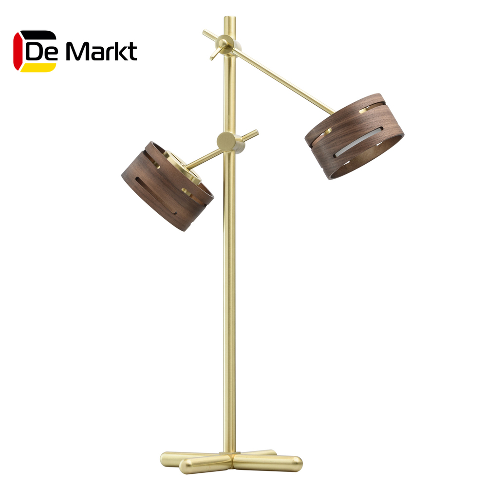 Table Lamps De Markt 725030602 lamp indoor lighting bedside bedroom 60x40cm height adjustable bedside table fashion movable laptop table multipurpose modern notebook desk