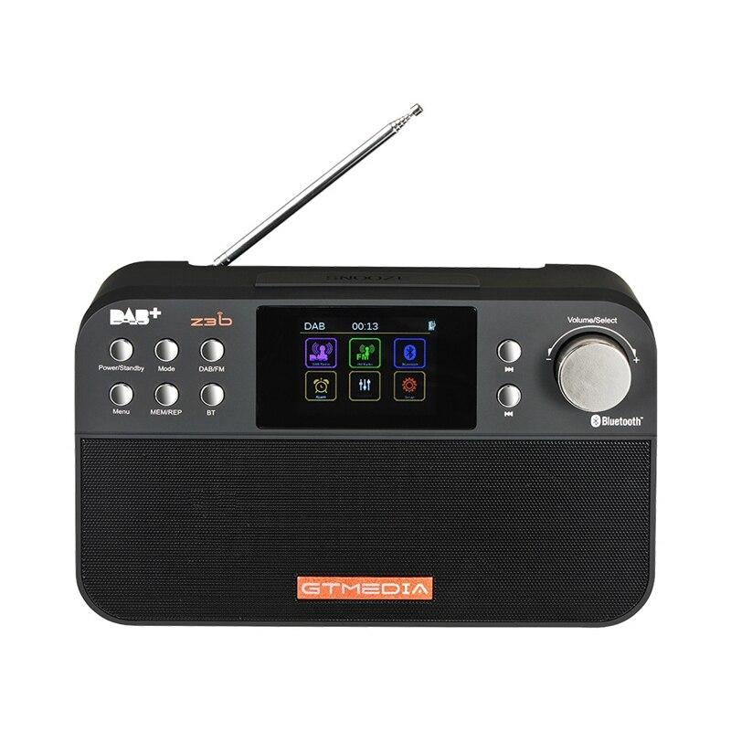 Récepteur Radio stéréo Dab Fm numérique Portable Gtmedia Z3B réveil Tft