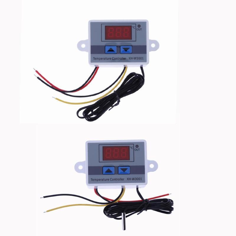12/220v 120/1500w Digital Microcomputer Power Temperature Sensor Module Smart Temperature Sensor Controller Home Improvement Elegant Shape