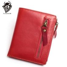 Men Wallets Genuine Leather Wallet For Credit Card Holder Zip Small Wallet Man Leather Wallet Short Slim Coin Purse Men Bags стоимость