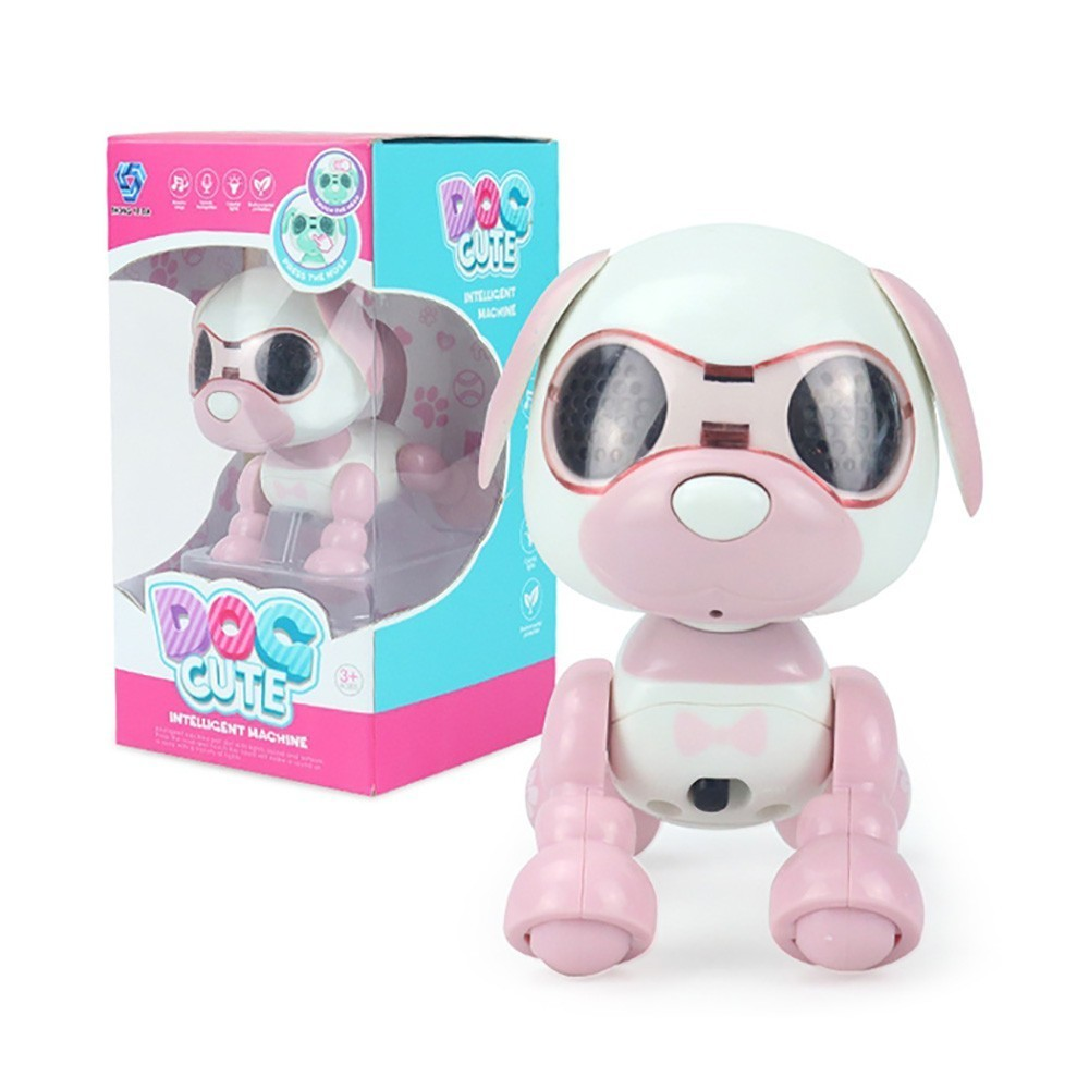 Touch Electric Smart Pet Toy Dog Electronic Pet Intelligent Dog Robot Toy Smart Wireless Talking Toys With Microphone Recording