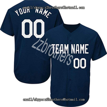 151f0b26e57 Custom Baseball Jersey Men Women Youth Button Down Embroidered Your Name  Number Add Your Team Logo