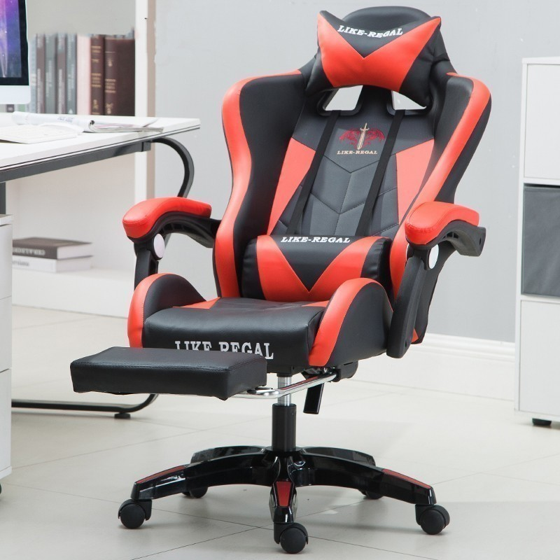 Купить с кэшбэком House Household Work comfort seat covers Office furniture leather gaming computer chairs Chair Game Lie Leisure Time Competition