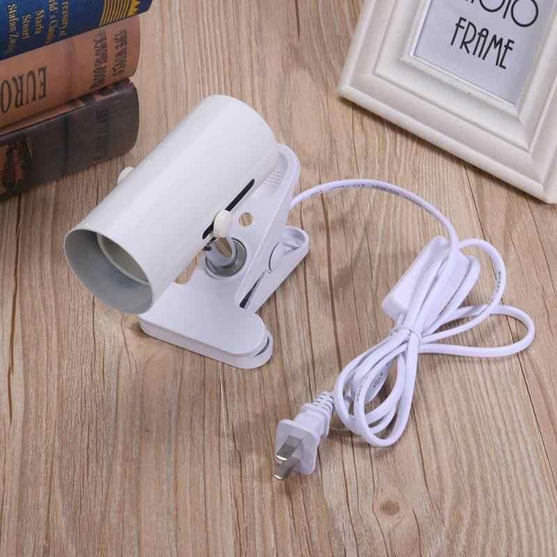 Alüminyum Alaşımlı Homekit lamba tutucu E27 Soket Standı Sürüngen Pet Seramik Kızılötesi ısı yayıcı lamba Işık Lamba Üsleri