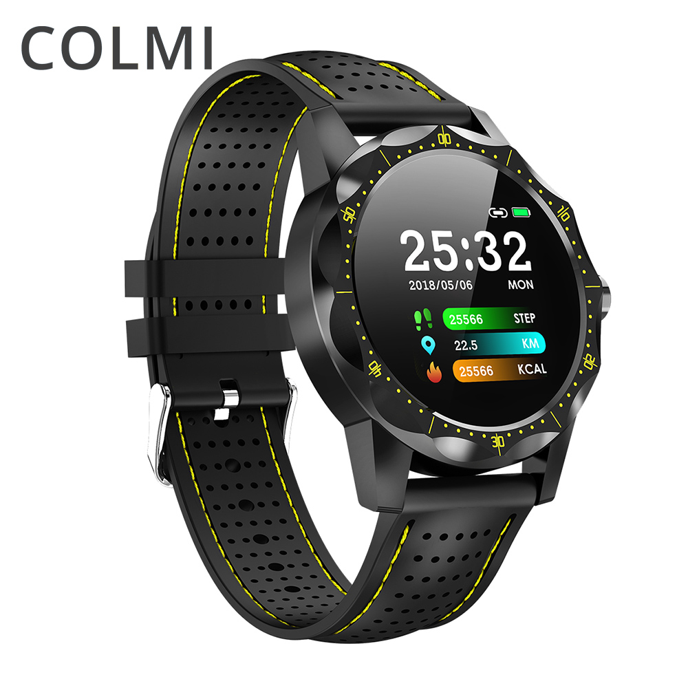 COLMI SKY 1 Smart Watch Men IP68 Waterproof Activity Tracker Fitness Tracker Smartwatch Clock BRIM for android iphone IOS phone ls2 helmet