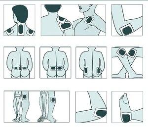 Image 4 - Ортопедический пластырь для облегчения боли в поясничном и Шейном отдела Спины, пластырь для снятия боли при ревматическом артрите, 100 шт./лот