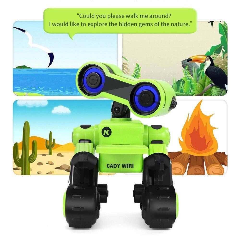 CADY WIRI R13 JJRC RC Robô Inteligente Sensível Ao Toque Programável Controle de Registro de Mensagem de Voz Cantar Dança Robôs de Brinquedo Para Presente Das Crianças VS R4 - 3
