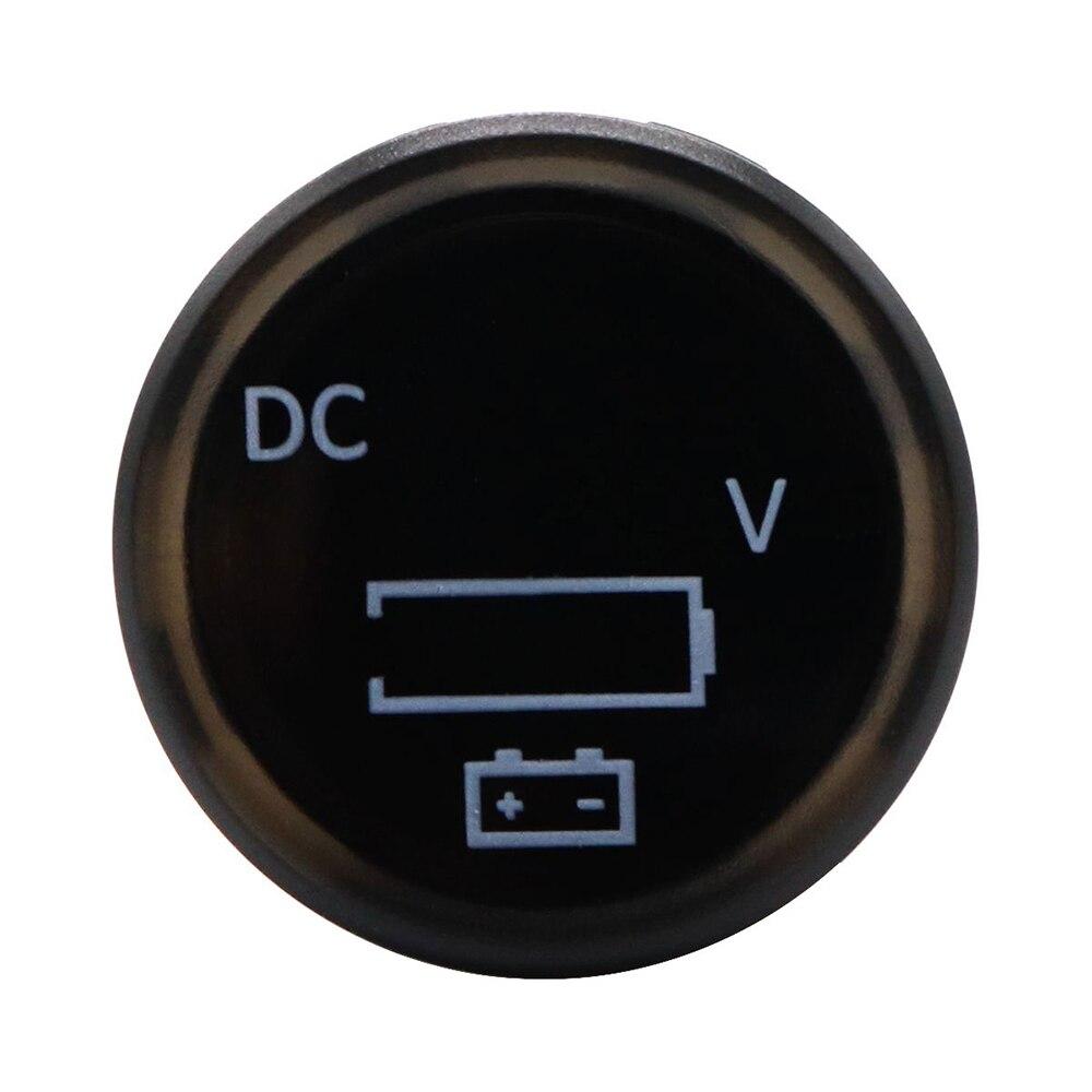 Neue 12 V/24 V Mini Digital Voltage Meter Led Panel Display Voltmeter Für Auto Motorrad Marine Reisen