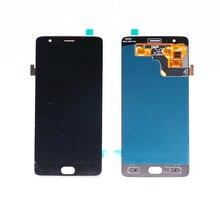 Para Oneplus 3 Display LCD com a Montagem de Toque Digitador Painel A3000 A3003 LCD Para Oneplus 3 T display LCD com tela sensível ao toque