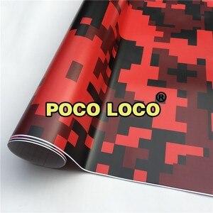 Цифровая Элитная красная камуфляжная виниловая пленка наклейка лист рулон клей ламинированный с премиум ПВХ матовый оверламинат