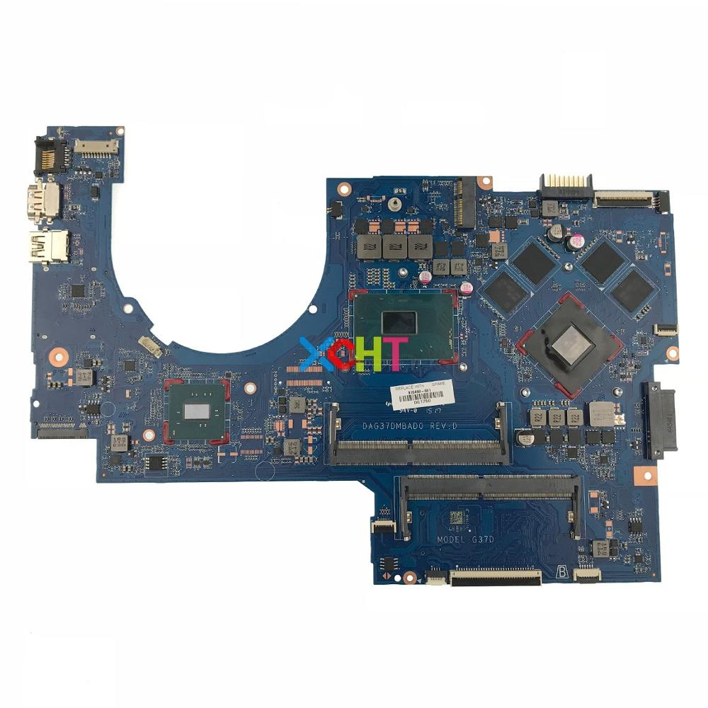 915468 601 915468 001 DAG37DMBAD0 w 1050 2GB i5 7300HQ CPU for HP Pavilion Notebook 17