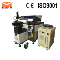 High Precision 400w laser welding machine with YAG laser for welding stainless steel, carbon steel, aluminum, alloy