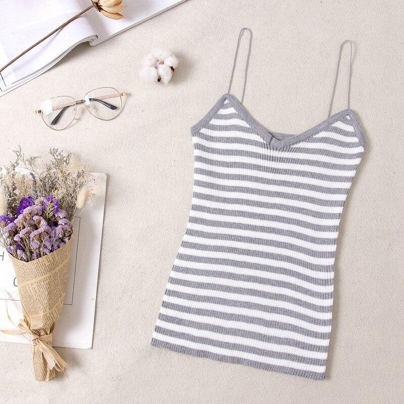 2019 Crop Tops Tamls Camis Camisole tank Moda Mujer tshirt Knitwear Sleeveless Tops T Shirt Blosas Casual