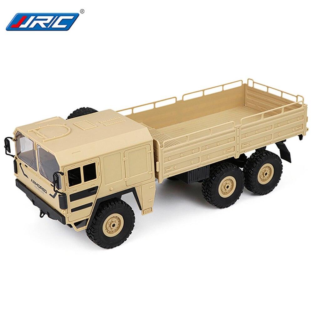 JJR/C JJRC Q64 1/16 2,4 г 6WD военный грузовик внедорожных Рок Гусеничный РТР игрушка 6 колес Racing Green желтый рождественские подарки