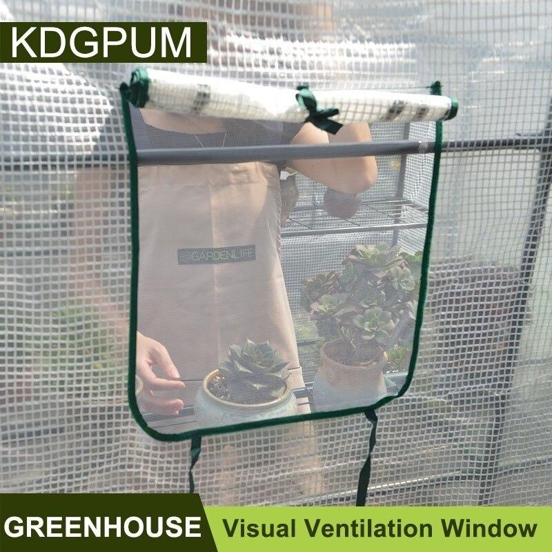 휴대용 플라스틱 pvc pe 온실 커버 정원 온실 식물 야채 성장 텐트 열 보존 비 증거 그린 하우스-에서그로잉 텐트부터 홈 & 가든 의  그룹 3