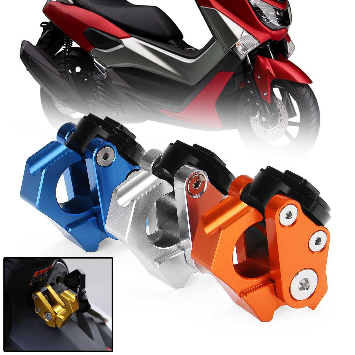 Motorcycle Scooter Accessories Convenience Hook Hanger Screws for <font><b>YAMAHA</b></font> NMAX155 <font><b>NMAX</b></font> 155 N-Max 155 N-MAX155 NAMX <font><b>125</b></font> N-MAX <font><b>125</b></font> image