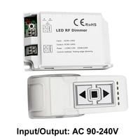 433MHZ RF Led Dimmer 220v 110v Remote Switch Control Dimmer 220 v Trailing Edge Dimming Dimmer Led 220v Strip Light