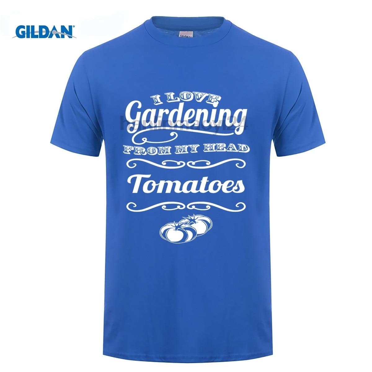 GILDAN I love Gardening From My Head ToMaToes Tshirt