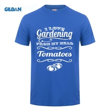 GILDAN I love Gardening From My Head ToMaToes Tshirt