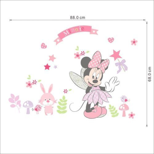 Minnie Mouse Vinyl Wall Sticker