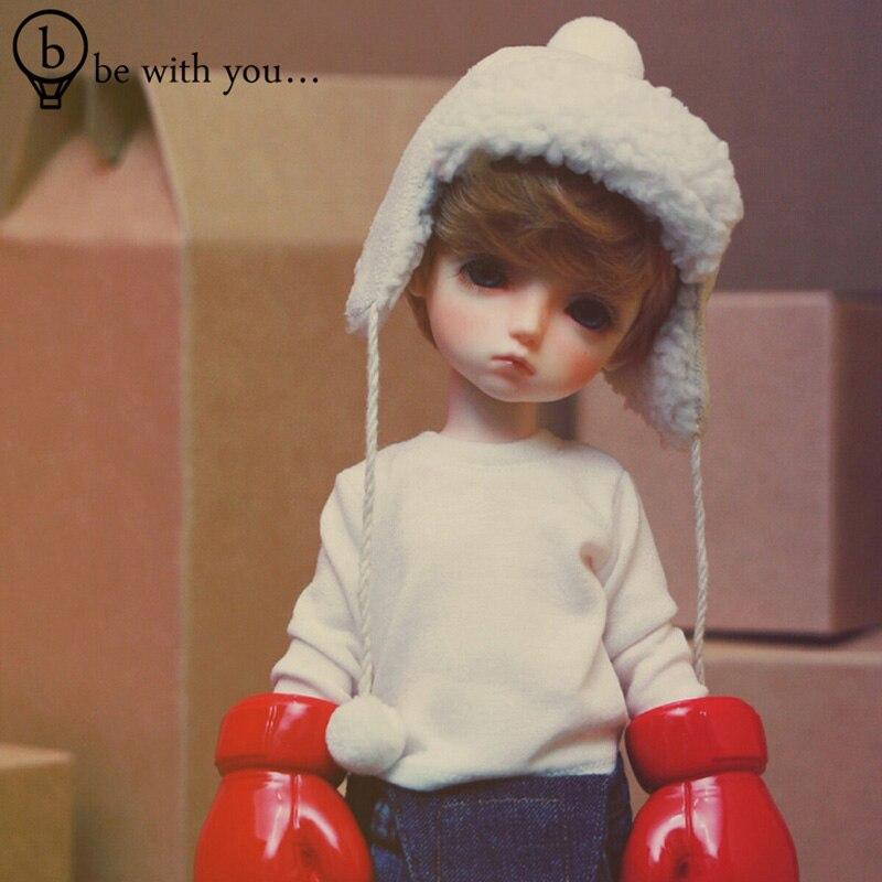 Bjd 1 4doll Benetia semi closed eye benih 4 points bjd doll fangs doll Christmas gift