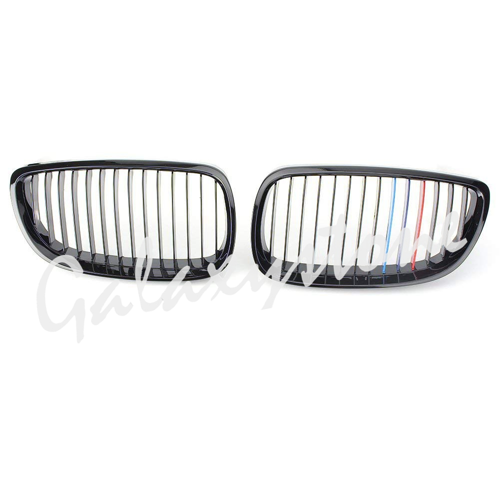 Glossy Black Front Kidney Grille Grill for 2007-2010 BMW 328i & 2009-2010 BMW 328i xDrive & 2007-2010 BMW 335i 2-DoorGlossy Black Front Kidney Grille Grill for 2007-2010 BMW 328i & 2009-2010 BMW 328i xDrive & 2007-2010 BMW 335i 2-Door