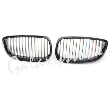 Glossy Black Front Rene Griglia Griglia per 2007-2010 BMW 328i e 2009-2010 BMW 328i xDrive & 2007-2010 BMW 335i 2-Door
