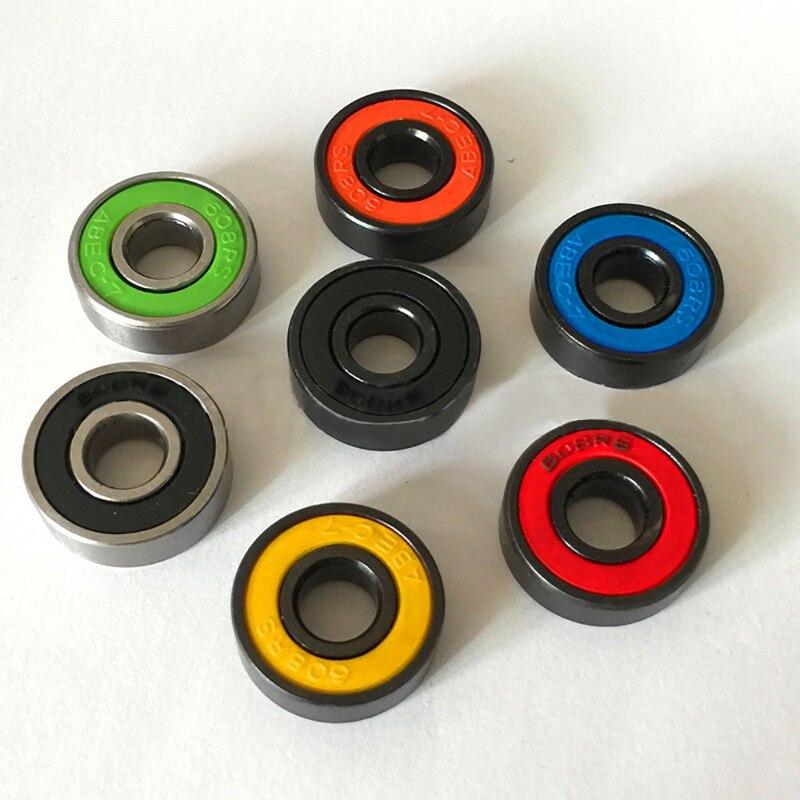 3Pcs Set Random 608 Hybrid Ball Bearings For Hand Spinner EDC Fingertip Gyro
