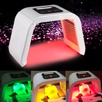 4 Colors Face Beauty Photodynamic Lamp PDT LED Light Therapy Machine Acne Wrinkle Remove Skin Rejuvenation Spa Ageless Therapy 5