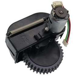 Правый руль робот-пылесос Запчасти аксессуары для ilife V3s pro V5s pro V50 V55 робот пылесос колеса Моторс