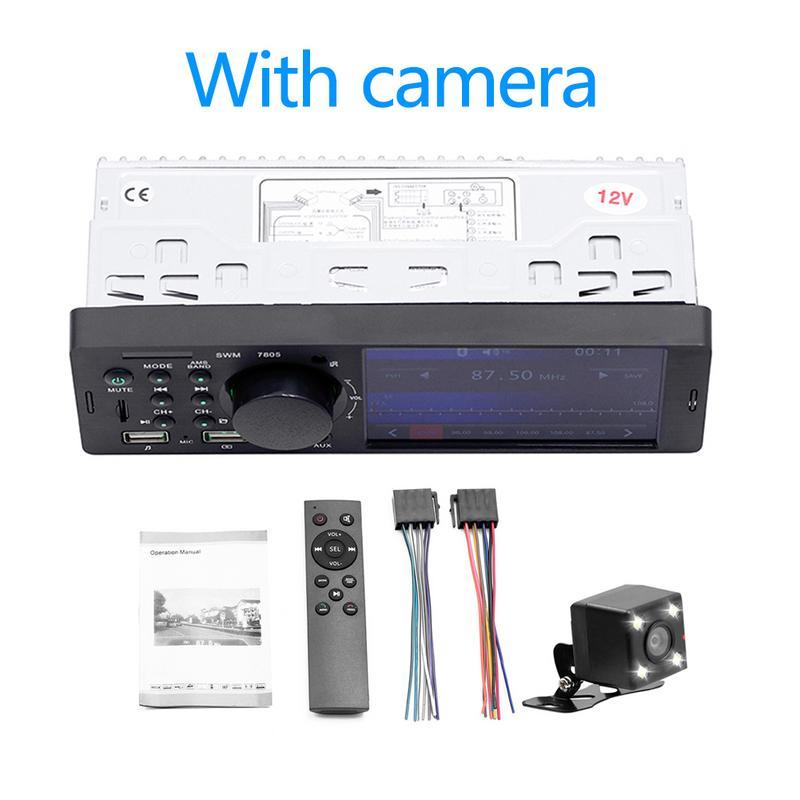 4 1 Inch TFT 1 Din Car Radio Audio Stereo FM Radio Bluetooth MP5 Player Connecting