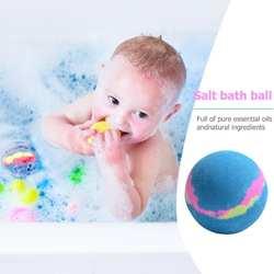 1 шт. пузырь для ванной соль мяч эфирные масла ручной работы Spa антистресс бомба натуральный Отшелушивающий мяч