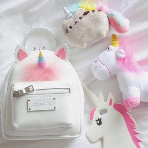 2019 New Unicorn Plush Mini Backpack For Girls Cute Unicorn Shoulder Bag Backpack Bag