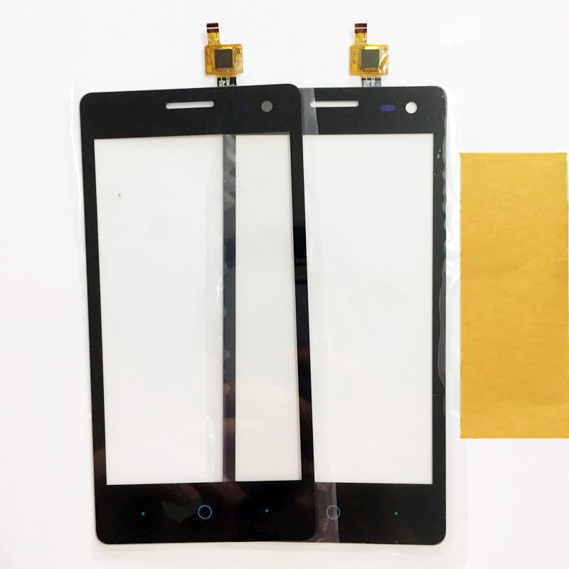 4.5 Inch Touch Screen For ZTE Blade GF3 Touchscreen Digitizer Front Glass Touch Panel Black Color