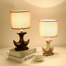 Nordic Wood LED Table Lights Lighting Retro Loft Bedroom Bedside Lamp Living Room Fixtures Decor Luminaire Suspension